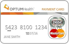 Optum Bank Debit Card Graphic